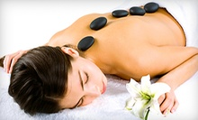 $37 for a 60-Minute Hot-Stone, Neck, Shoulder, and Back Massage at Soulful Journey ($75 Value)