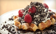 $15 for Four Groupons, Each Good for $7.50 Worth of Belgian Waffles at Zinneken's ($30 Total Value)