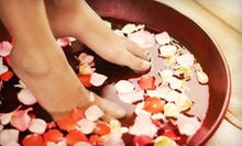 One Deep-Clean Pedicure or One or Two Green-Tea Pedicures at Afternoon Salon Nail and Spa (Up to 55% Off)