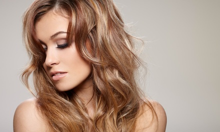 Deva Curl Haircut Package with Optional Color Treatment at The Salon (Up to 48% Off)