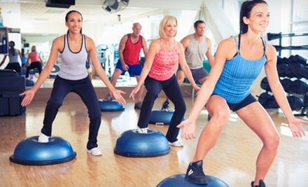 10 or 20 Fitness Classes at Just Fitness Classes, LLC at The Patrizio Center for the Arts (Up to 61% Off)