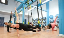 5 or 10 Studio Boot-Camp or Plyo-Pilates Classes, or 8 TRX Classes at bodyFi (Up to 64% Off)