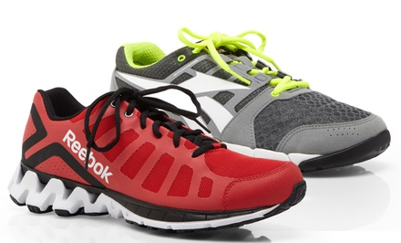 groupon daily deal - Reebok Athletic Shoes for Men. Multiple Options Available. Free Returns. | Brought to You by ideeli