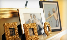 Custom Framing or Ready-Made Frames at Pictures Plus (Up to 51% Off)