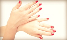 One or Three Gel Manicures with Optional Blowouts at Salon LimeLight (Up to 62% Off)