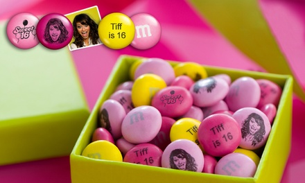 $15 for $30 Worth of Personalized M&Ms from MyMMs.com