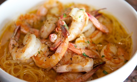 Three-Course Prix-Fixe Dinner for Two or Four at Killer Shrimp (Up to 42% Off). Groupon Reservation Required.