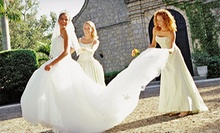 Wedding Apparel and Accessories at Debra Dee Weddings (Half Off). Three Options Available.