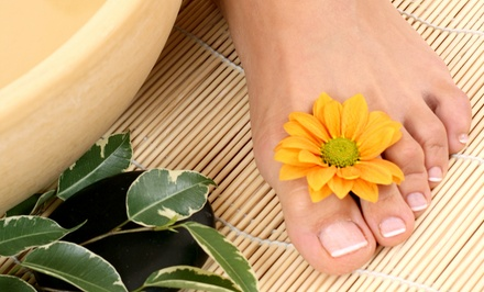 Laser Toenail-Fungus Removal for One or Two Feet at Novato Foot Health Center (73% Off)