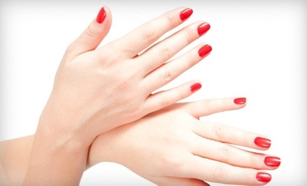 One Shellac Manicure or Rockstar Toes at Nails by Stephanie Stone at the Nail and Skin Emporium (Up to 51% Off)
