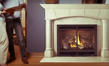 $886 a Novus 33 Gas Fireplace with Standard Vent Kit from Fireside Hearth & Home ($1,772 Value)