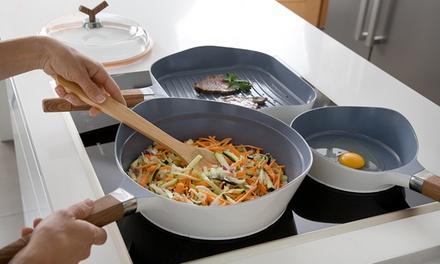 Conjunto de frigideiras Premium em alumínio fundido por 59,99€