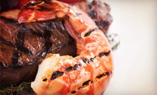 Seafood for Lunch or Dinner at King Fish Grill &amp; Tap House (Up to 53% Off)