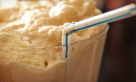 $4.50 for Two Medium Root-Beer Floats at Weber's Superior Root Beer Stand ($ 9 Value)