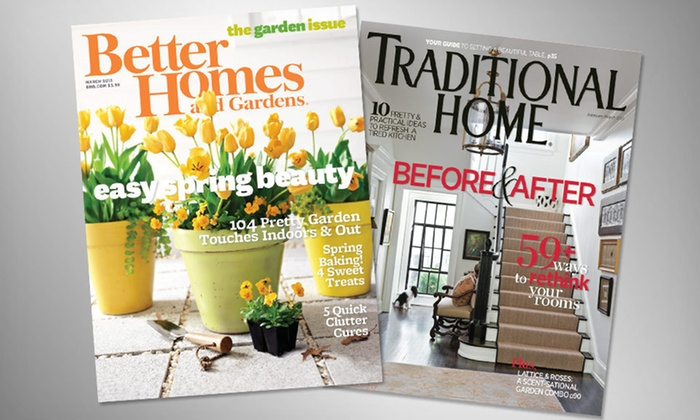 half off home decor magazine subscriptions groupon