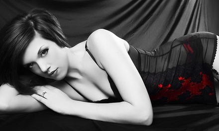 Boudoir, Family, Individual, or Kids Photography Package at Glamour Shots (Up to 96% Off)