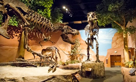 Dinner and Dinosaurs, Junior Paleo, Museum and Movie, or Museum Visit for Two at Thanksgiving Point (Up to Half Off)