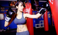 10 Kickboxing Classes or One Month of Unlimited Fitness Classes for One or Two at Fighter Physique (Up to 91% Off)
