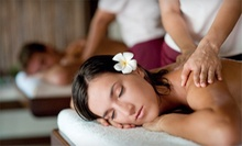 $84.99 for a One-Hour Couples Massage with Complimentary Wine at YOLO Nail Salon and Day Spa ($180 Value)