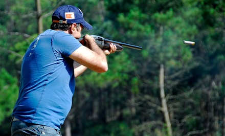 Clay-Shooting Package for One or Two at Top Gun Sportsman's Club (Up to 54% Off)
