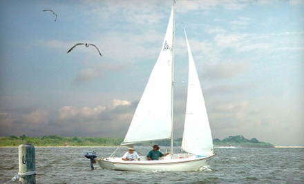 Three-Hour Introductory Sailing Lesson for One or Two from Barnegat Bay Sailing School (Up to 53% Off)
