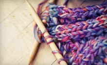 Two-Hour Learn to Knit Class for One or Two, or $30 or $60 Credit Toward Any Class at Fashion-knit (Up to 57% Off)