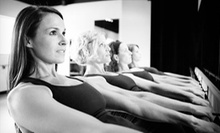 Five BarreAmped Classes or One Month of Unlimited BarreAmped Classes at Serenite' Fitness (Up to 69% Off)