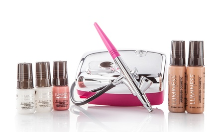 Luminess Heiress Airbrush Beauty System with Cosmetics Starter Kit