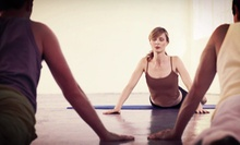 10 or 20 Drop-In Yoga Classes at Aum Center Yoga (Up to 86% Off)