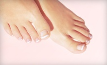 One Laser Nail-Fungus Treatment for One or Both Feet at Houston Foot and Ankle Care (Up to 67% Off)