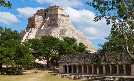 Groupon Deal: 7-Day Culinary Trip in the Yucatán with Hotel from Epitourean. Price/Person Based on Double Occupancy.