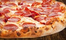 Meal for Four or Eight with Pizza, Pasta, & Breadsticks at Pizza Master Fusion (Up to 50% Off). Two Options Available.