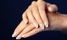 One or Three Shellac Manicures at Aqua Nail Studio (Up to 51% Off)