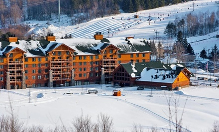 2-Night Stay with Water-Park Passes and Optional Skiing at Hope Lake Lodge and Conference Center in Finger Lakes, NY