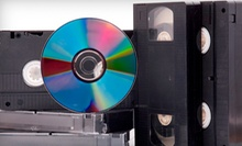 $40 for $100 Worth of Video-Transfer Services at AMR Productions in Novato