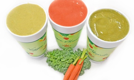 $15 for a Punch Card Good for Four Medium Smoothies at Smoothie King ($27.96Value)