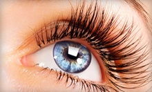 Eyebrow Waxing, Design, and Tint or Eyelash Extensions at Esthetics by Faith (Up to 60% Off)