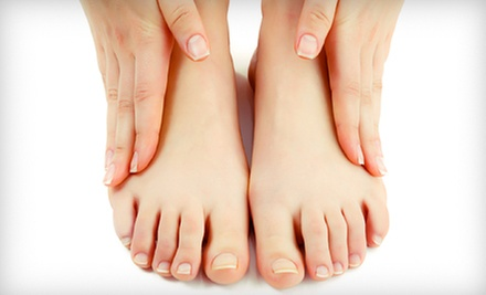 Laser Toenail-Fungus Removal Treatment on One or Two Feet at Plateau Foot &amp; Ankle Clinic (Up to 70% Off)