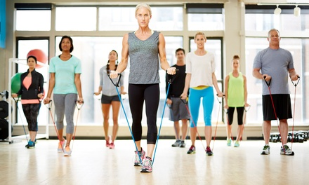Five or Ten Fitness Classes at Carl Roberts Fitness (Up to 78%Off)