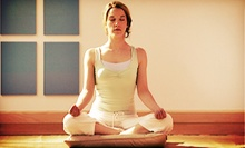 5 or 10 Yoga Classes or One Month of Unlimited Classes at Ananda Yoga (Up to 72% Off)