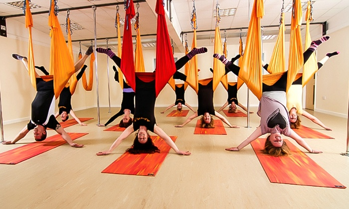 Heavenly fitness - Heavenly fitness: Heavenly Fitness Yoga: Four-Week Anti-Gravity or Aerial Hoop Course for £24 (50% Off)