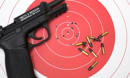 Shooting-Range Outing for Two or Four at Shoot Smart (Up to 51% Off)