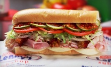 $5 for $10 Worth of Sandwiches at Lenny's Sub Shop