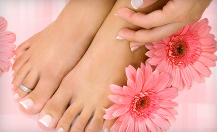 Classic or Spa Mani-Pedi at Dominican Spa &amp; Salon (Up to 52% Off)