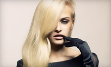 Haircut and Moroccanoil Conditioning Treatment with Optional Partial Highlights at M.GO Fashion Salon (Up to 68% Off)