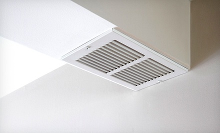 Air-Duct Cleaning with Option for Air-Duct Sanitizing or Dryer-Vent Cleaning from Indoor Air Solutions (Up to 65% Off)