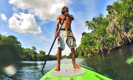 All-Day Premium Standup Paddleboard Rental for One or Two from Jupiter Kite Paddle Wake (Up to 59% Off)