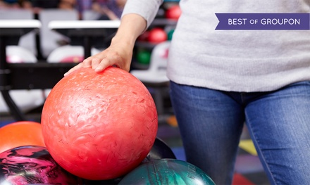 One Hour of Bowling with Shoe Rentals for 6 or 10 at Pinz (Up to 56% Off)