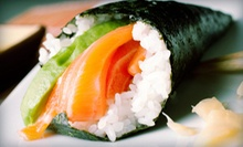 $15 for $30 Worth of Sushi and Japanese Cuisine with Edamame at Sushiyaki ($34.95 Value)