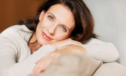 RF Collagen Skin-Rejuvenation Treatments and LED Facial Treatments (Up to 81% Off). Two Options Available.